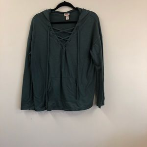 Mossimo Supply Co. Large Hoodie Sweater